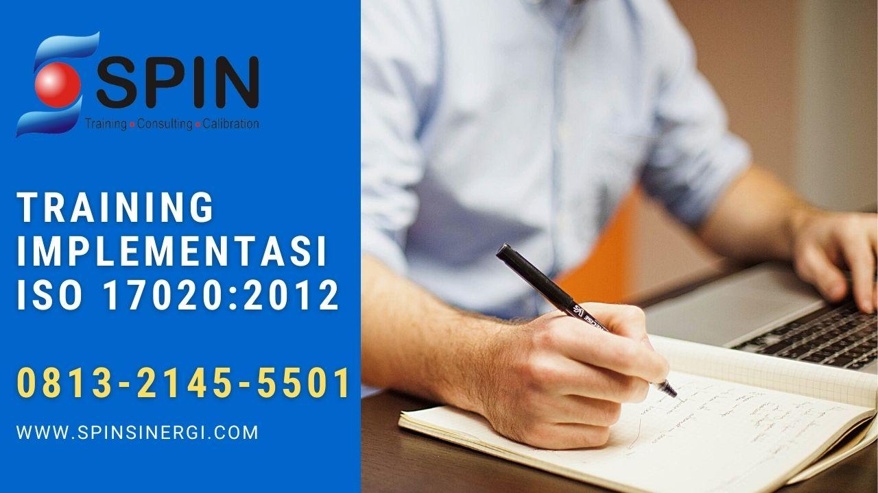 Training Implementasi ISO 17020 SPIN Training Bandung
