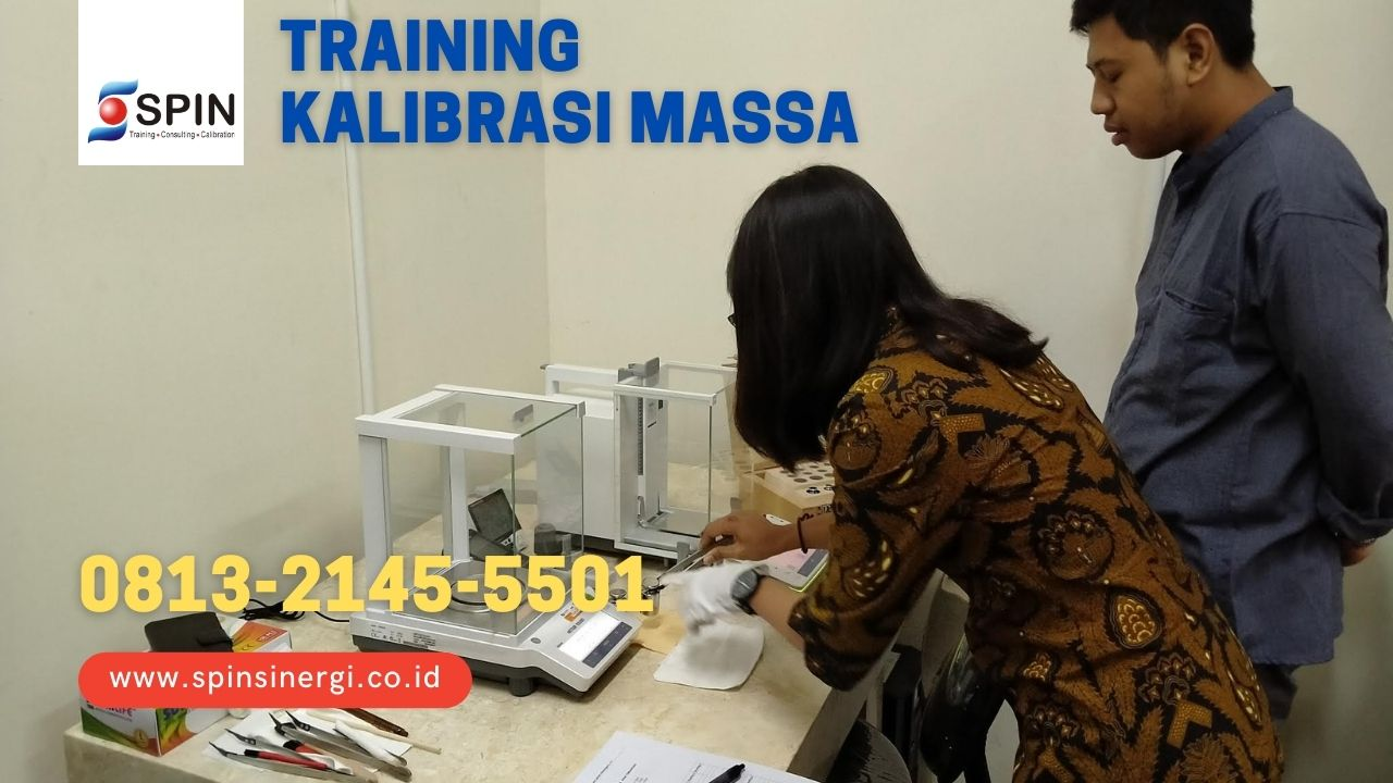 Training Kalibrasi Massa Timbangan