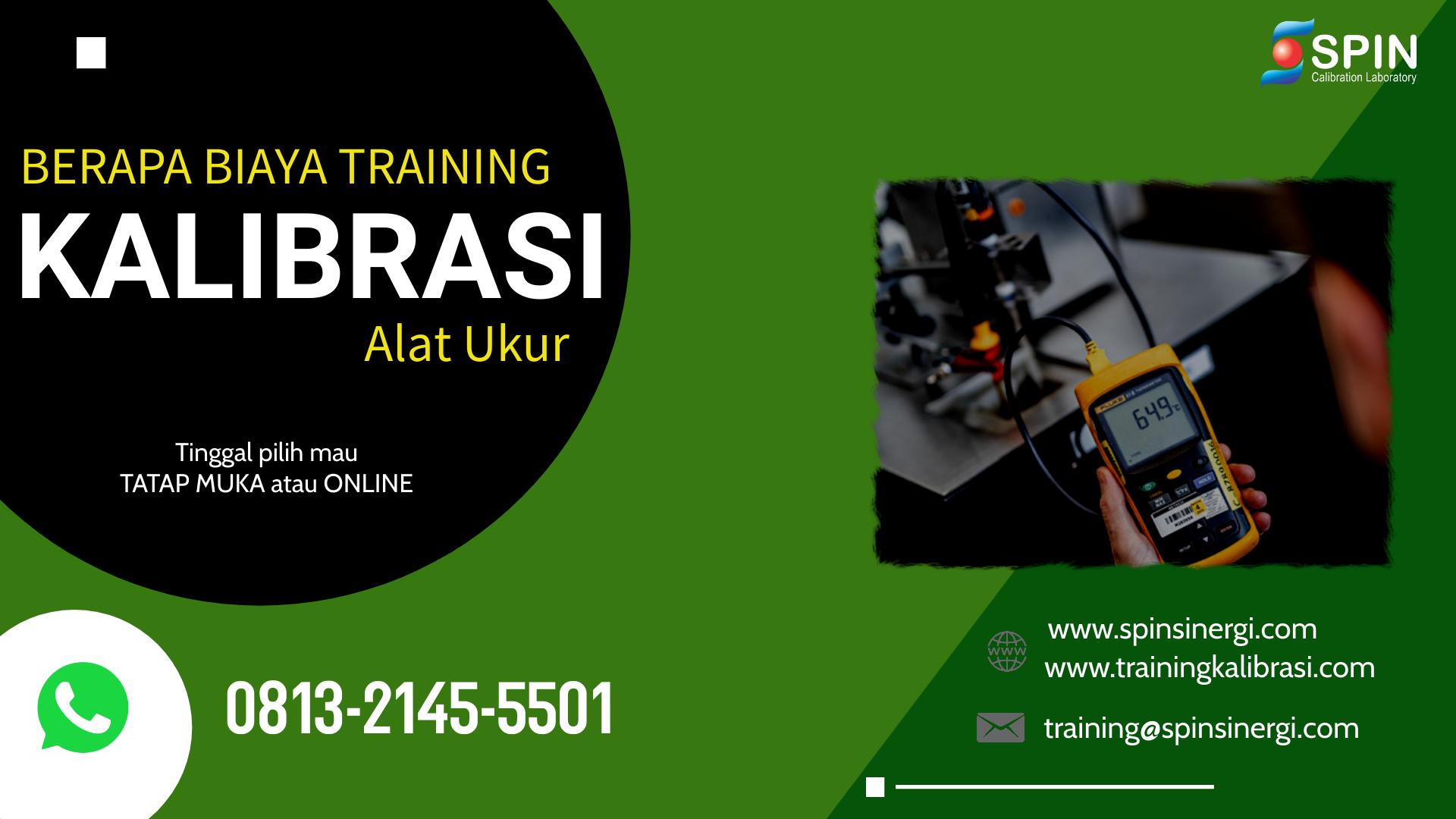 Biaya Training Kalibrasi