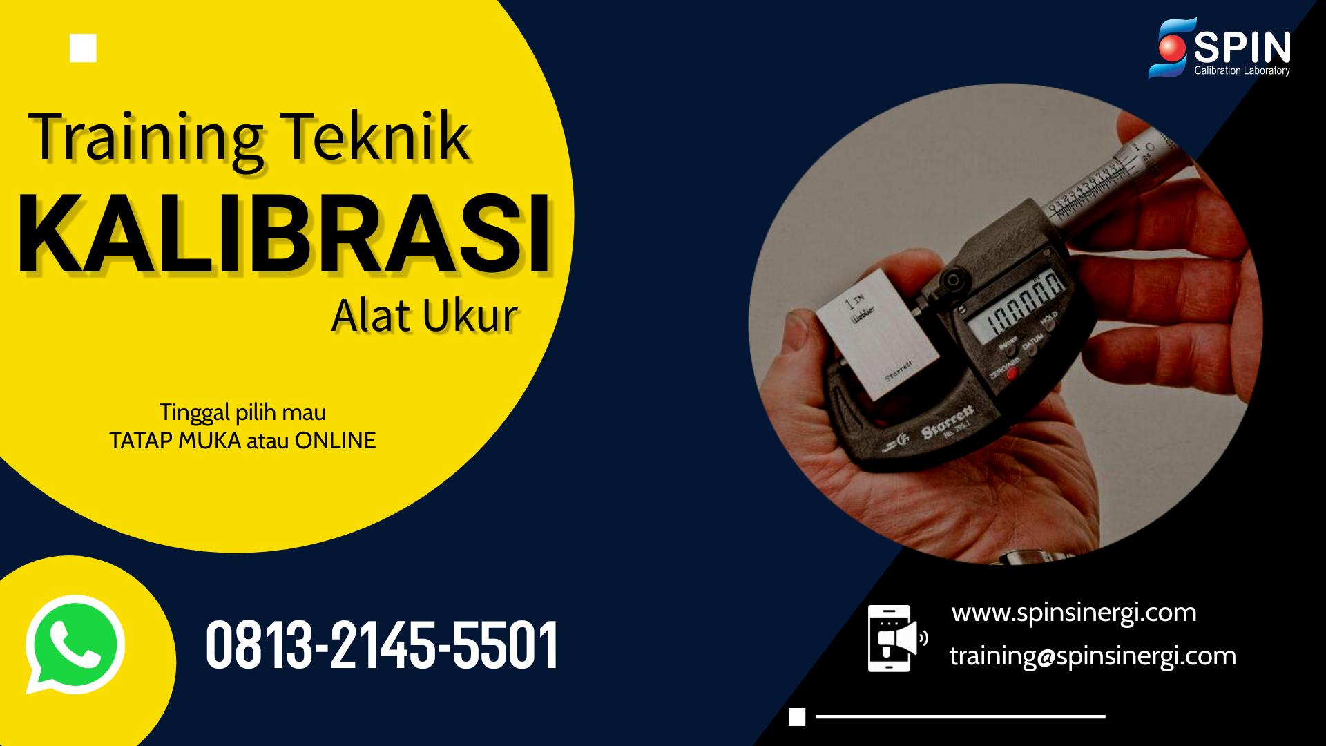 Training Teknik Kalibrasi Alat Ukur