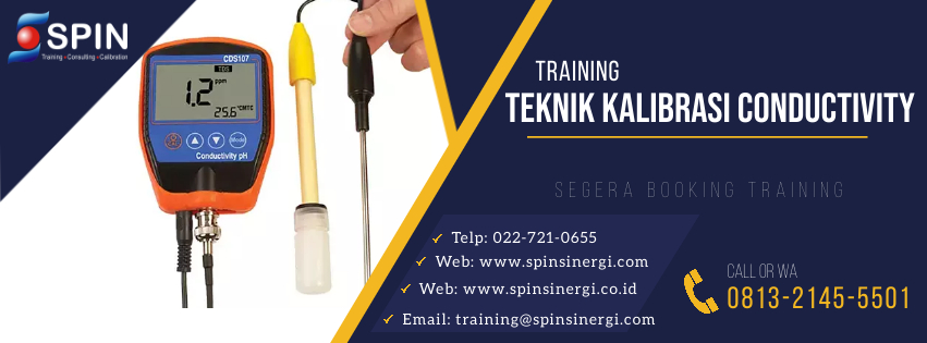 Training Teknik Kalibrasi Conductivity Meter