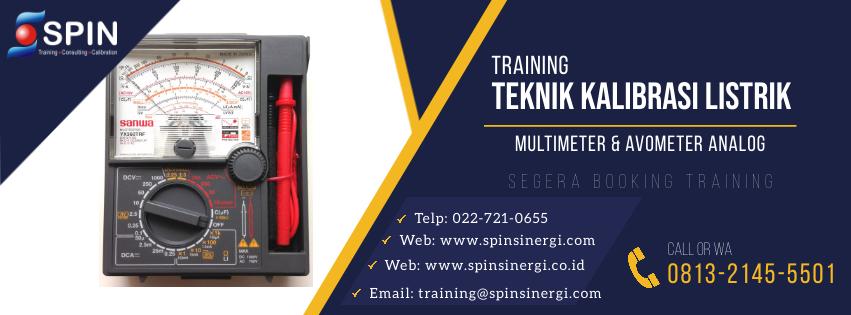 Training Teknik Kalibrasi Listrik Multimeter dan Avometer