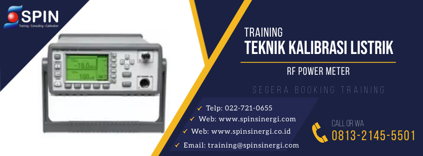 Training Teknik Kalibrasi RF Power Meter