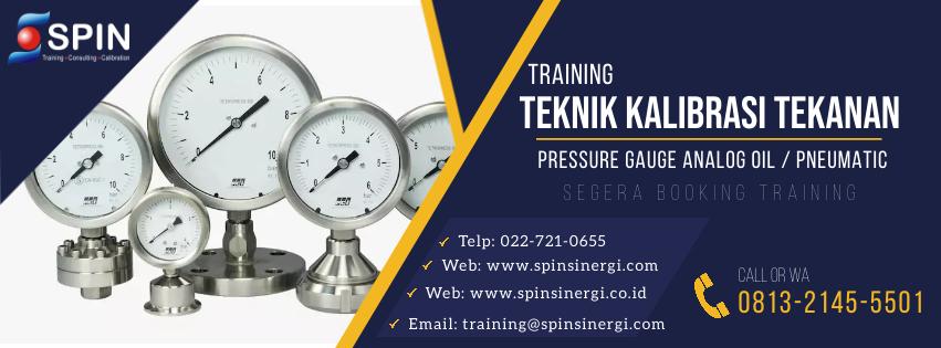 Training Kalibrasi Tekanan Pressure Gauge Analog Oil