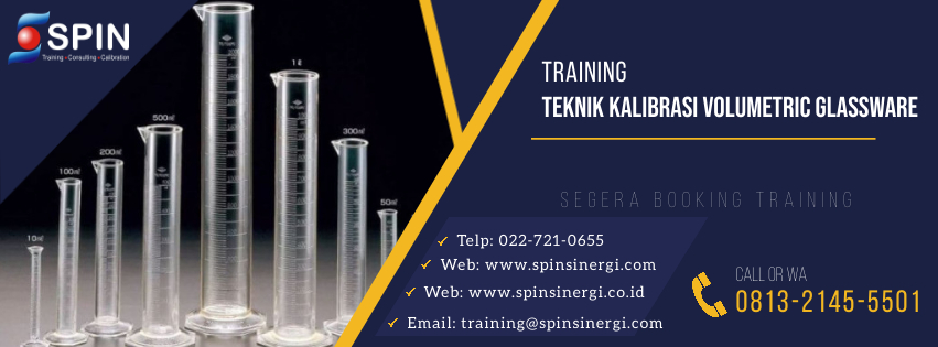 Training Teknik Kalibrasi Voluetric Glassware