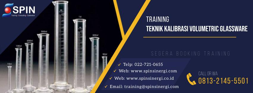 Training Teknik Kalibrasi Voluetric Glassware