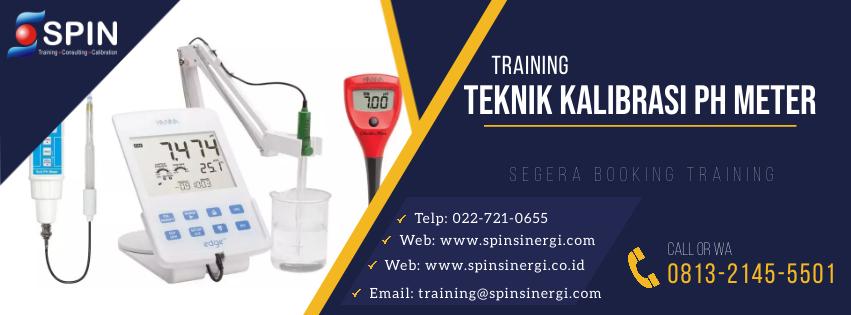 Training Teknik Kalibrasi pH Meter